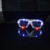 4th of July American flag LED shutter shades glasses