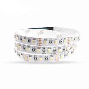 High Power 24v grbw 4 in 1 round smd5050 led light strip