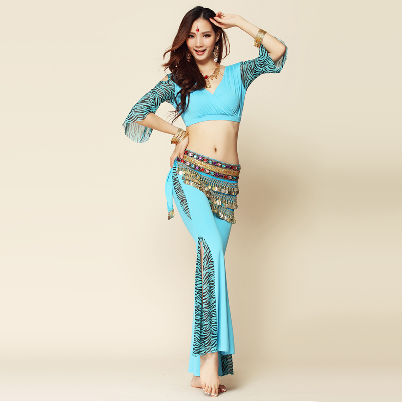 Aliexpress.com : Buy Bellydance 2pcs 3pcs Top Pants Waist ...