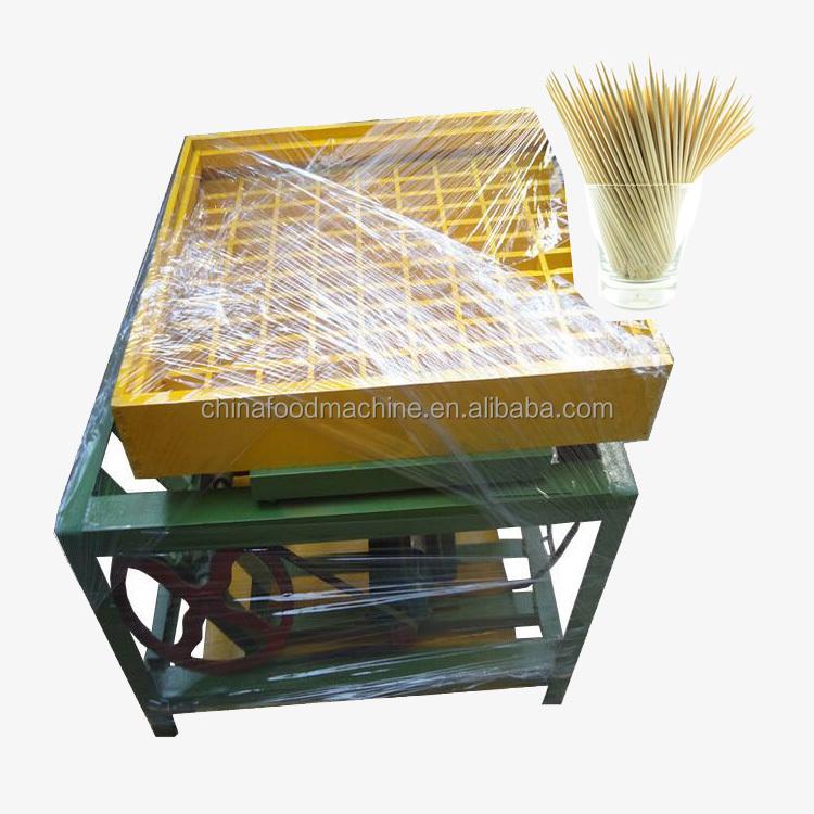 Mejor Precio de alta calidad automática de madera palillo de bambú sacapuntas que hace la máquina
