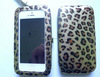 Leopard Pu Clutch Wristlet Clip Phone Wallet Purse Case Cover With Touch Window For Iphone 4 , 5 , Iphone 6 Plus ,Sumsung , HTC