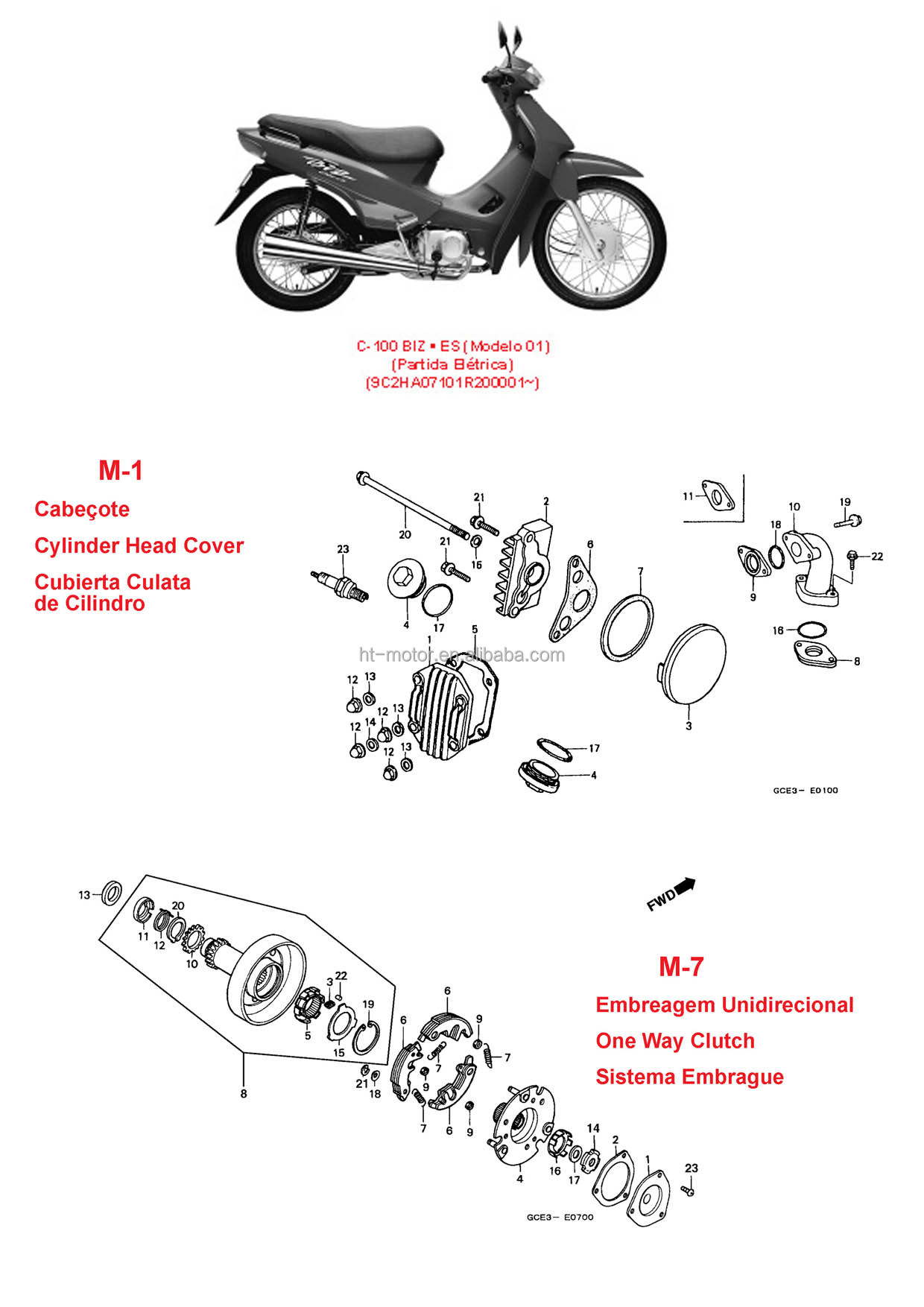 Ct 100 Bike Wiring Diagram Honda K Ct100 Bajaj Boxer Image Oem Quality Buy