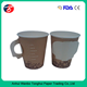 Great quality disposable beverage handle paper cup with printing logo