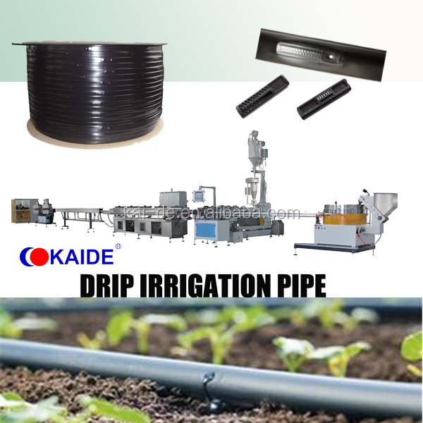 agriculture drip irrigation hose production line factory