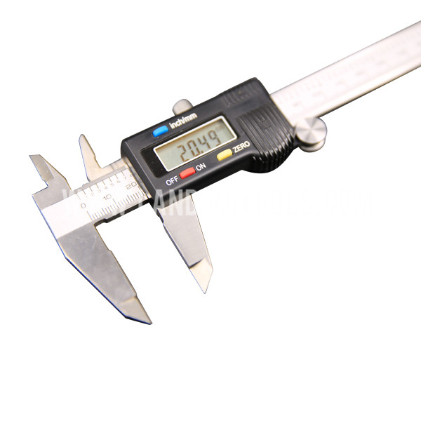 Alibaba factory price metric / inch system interchange digital vernier caliper