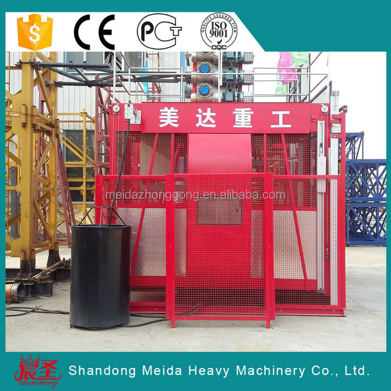 Hot-Sales SC series frequency passenger/material hoist elevator SC200/200