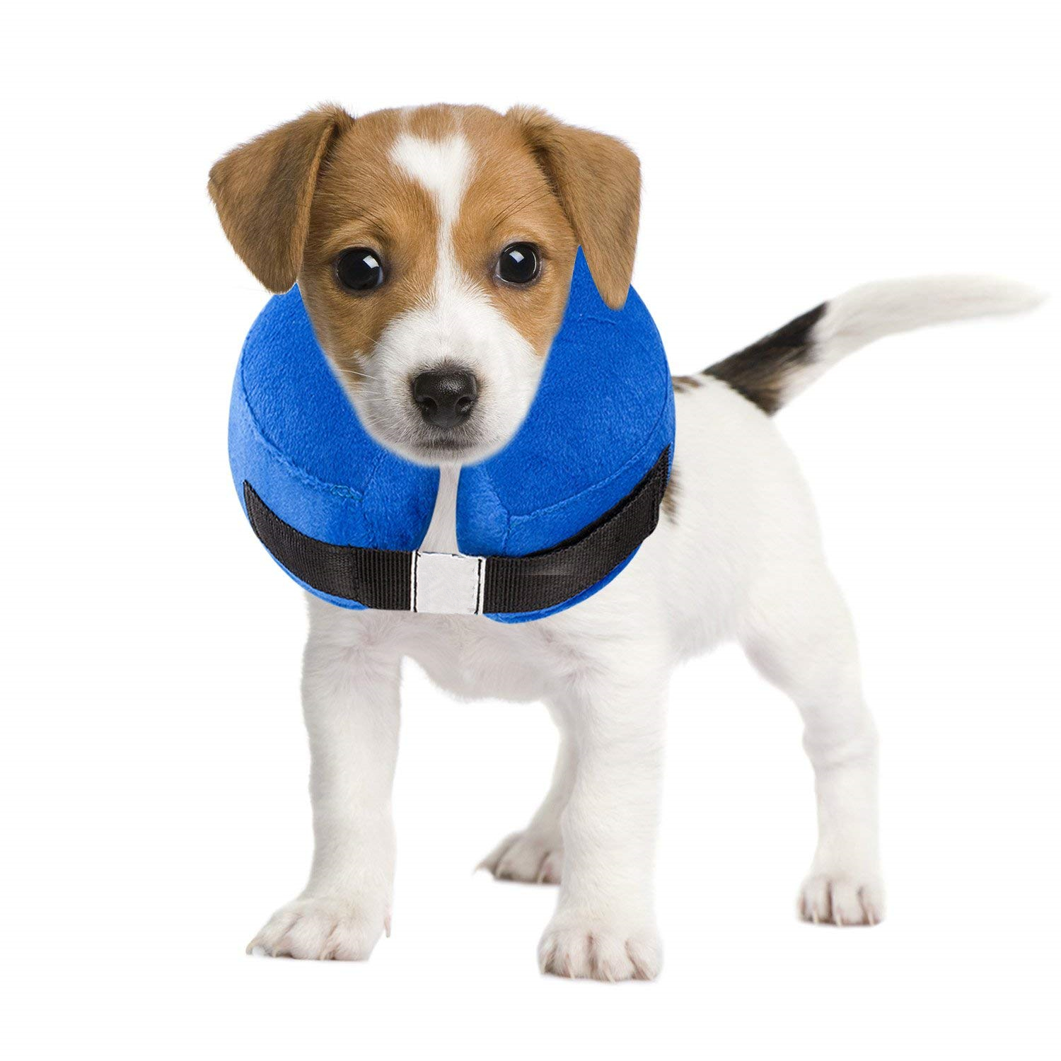 Protective Inflatable Collar for <strong>Dogs</strong> and Cats Inflatable <strong>Dog</strong> Collar Soft Pet Recovery E-Collar