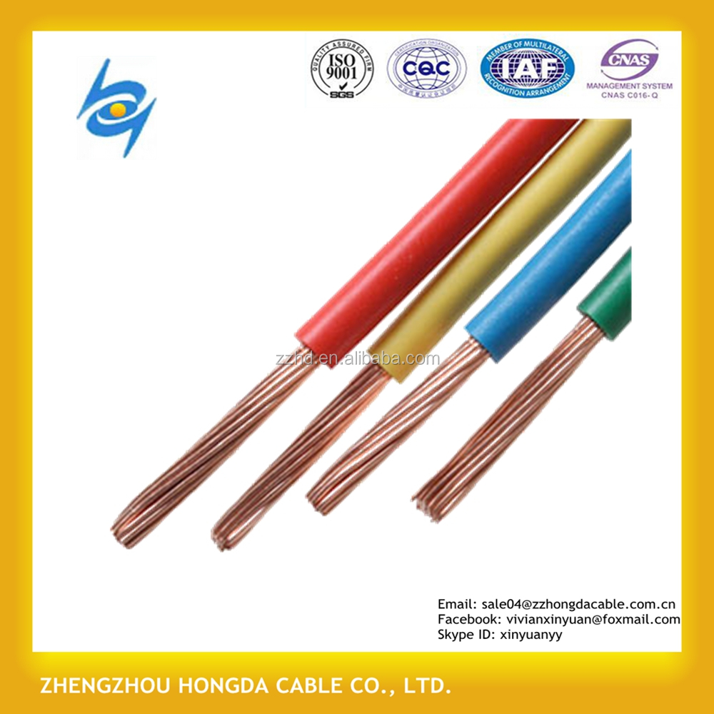 China Wire Copper Conductive Wholesale Alibaba Flameretardant Flexible Electrical Bv Bvvb Bvr