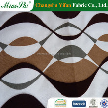 Antifouling easy clean flocking velvet fabric for sofa cover and car seat made by Golden producer