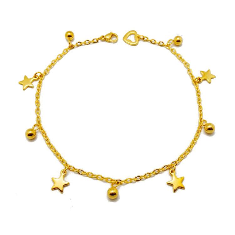 Большая скидка, распродажа, в наличии, тонкий золотой браслет-бабочка, нержавеющая сталь, богемные ювелирные изделия для женщин, браслет с шармом на лодыжке для подарка