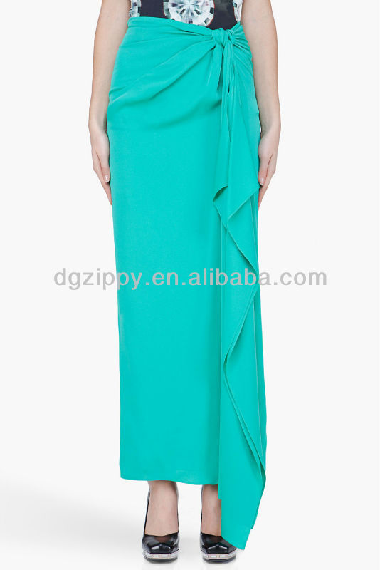 New Front Design Women Long Skirt - Buy Latest Long Skirt Design ...