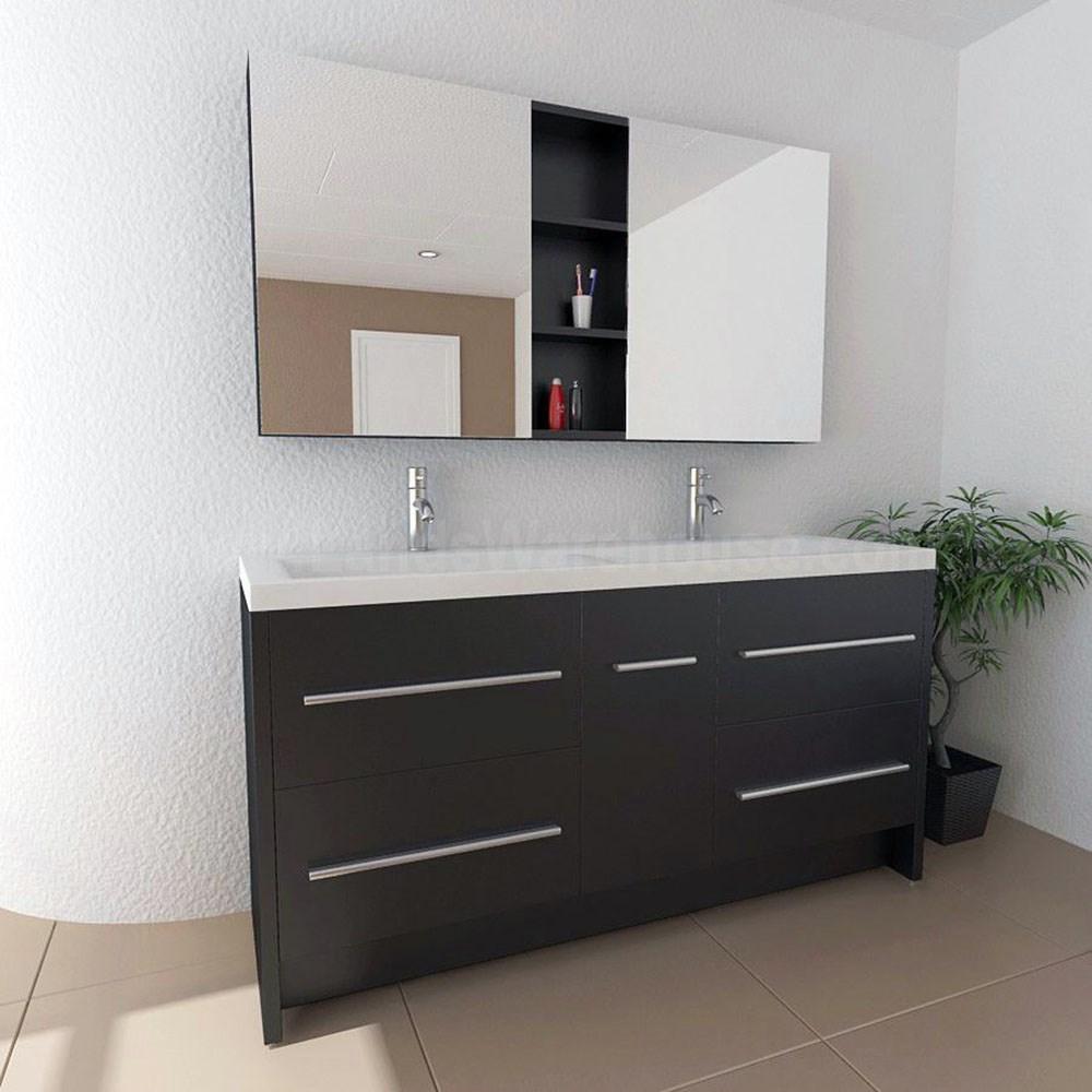 24 Inch Dual Sink Wholesale Mobile Home Shaker Vessel Bathroom