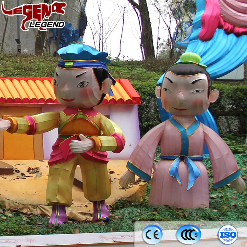 Hot sell chinese traditional story parable lantern decoration
