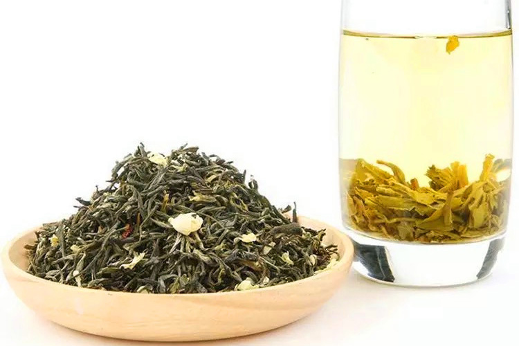 Elevate Tea Chinese Jasmine Scented Green Tea Loose Leaf Tea Blend - 4uTea   4uTea.com