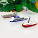 Promotion gift PVC material customized logo 4GB 3D Cruise Ships shape usb flash drive