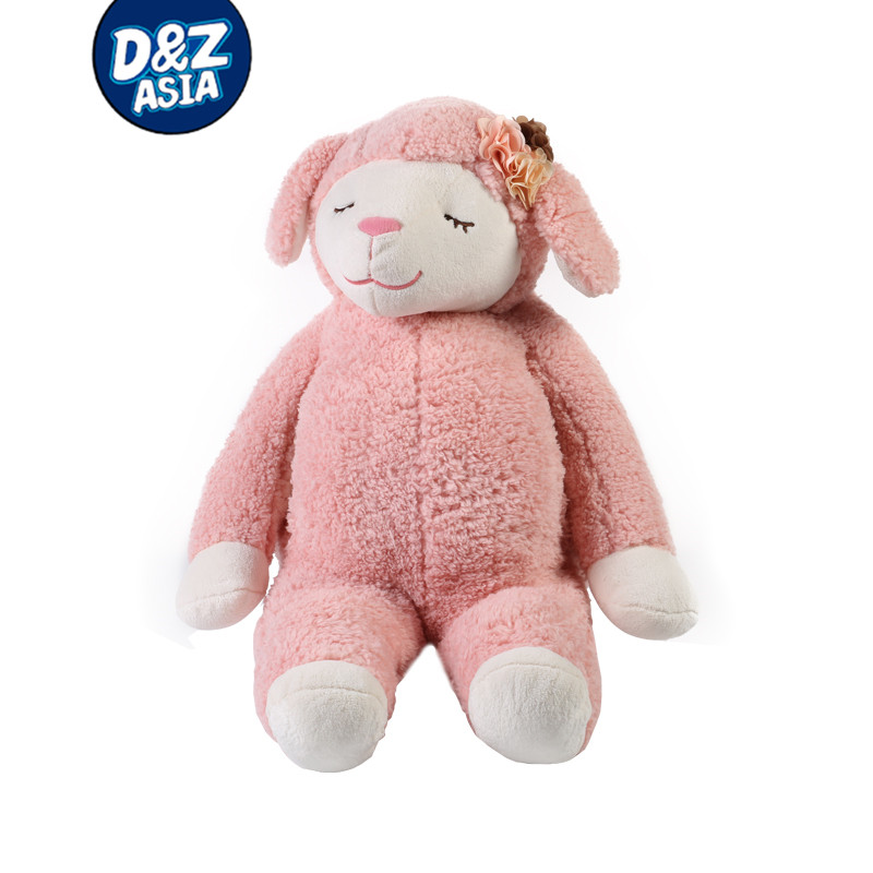 2017 high quality OEM hug toy plush sheep lamb stuffed toy for baby