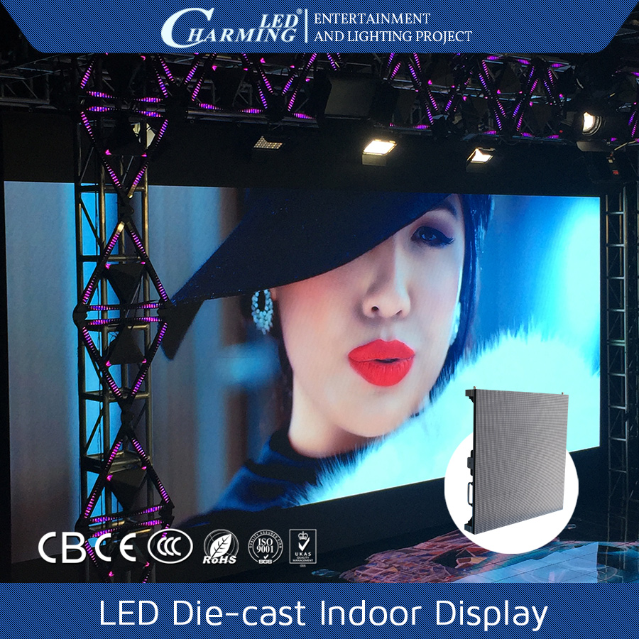 P2.5 led indoor display screen full color /led display screen parking slots variable message sign