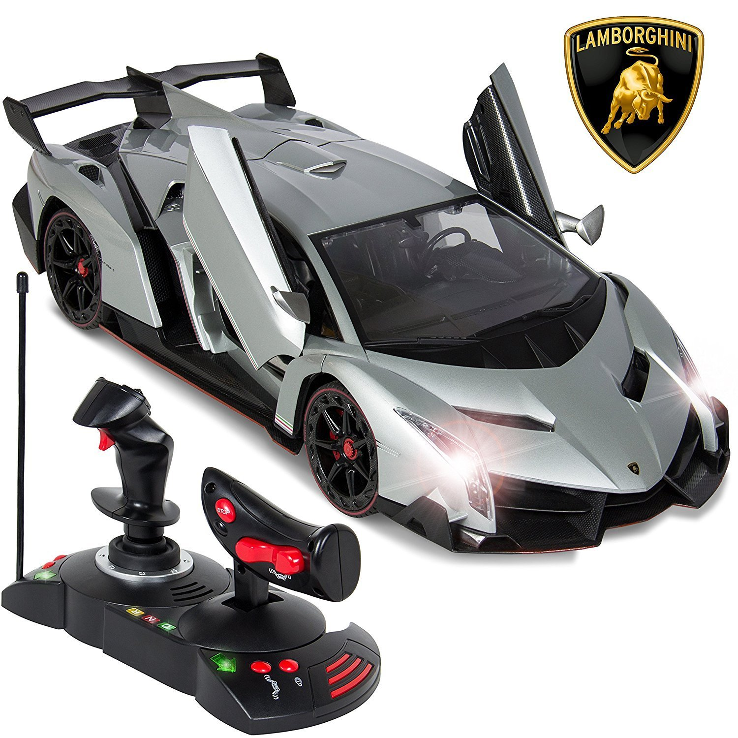Buy Remote Controller Car Lamborghini Veneno Electric Car Radio For
