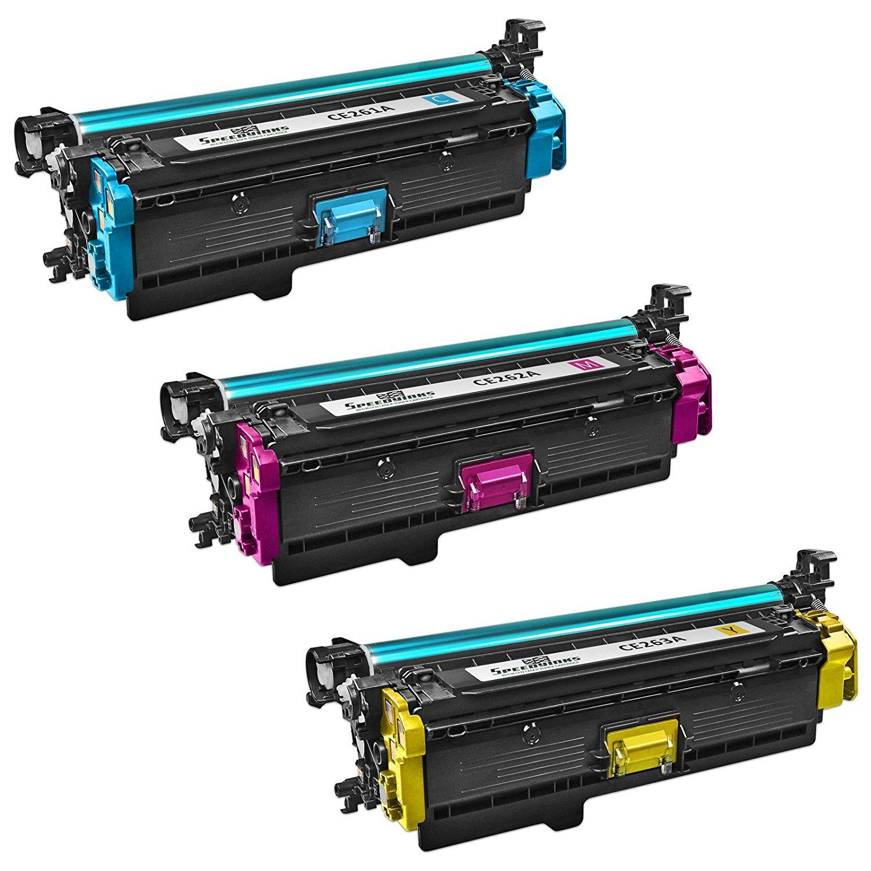 Global Cartridges Compatible HY Toner Cartridges Set for HP 647X 647A 648A// CE260X CE261A CE262A CE263A Black,Cyan,Yellow,Magenta, 4-Pack