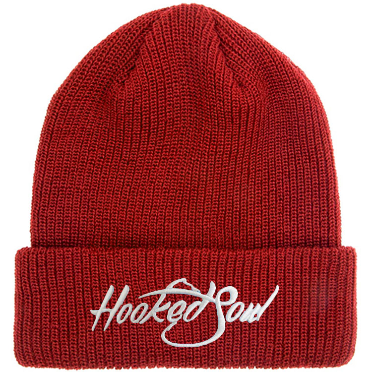 274a4103a52 Custom Black Knit Hat  Beanie  Winter Hat Embroidered Logo 2018 Wholesale