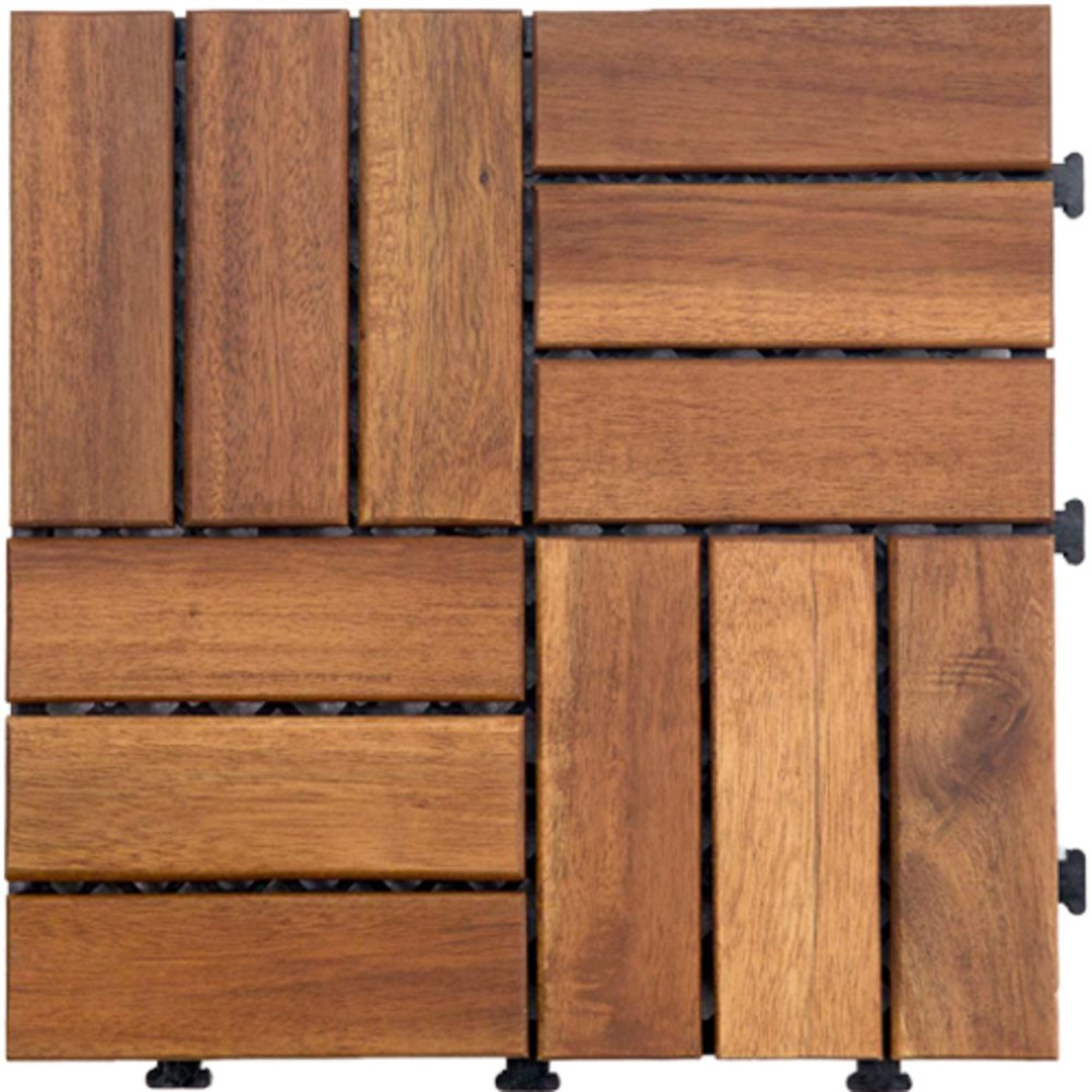 Diy wood flooring/parquet flooring/anti-skidding ,[anticorrosive],outdoor,garden wood flooring-H
