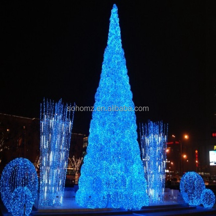 Mall & Hotel Indoor Snowflake Design Giant Christmas Tree Led ...