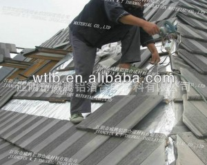 aluminum foil fiber cloth roof tile thermal insulation