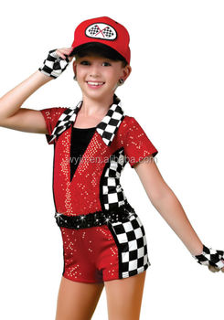 Exciting New Arrival Speed Racer Dance Shortall For