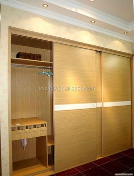 Wooden Bedroom Wall Wardrobe Design Wardrobe Cabinet Closet Sliding Doors