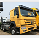 Sinotruck Howo 371 420 hp Hyundai Tractor Head 6X4 6x6 All Wheel Drive Tractor Truck