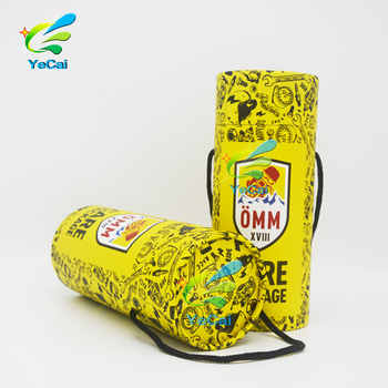 OEM ODM food paper tube packaging recyclable and biodegradable kraft paper box