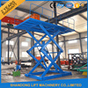 hydraulic scissor type electric quick jack car lift elevator with CE