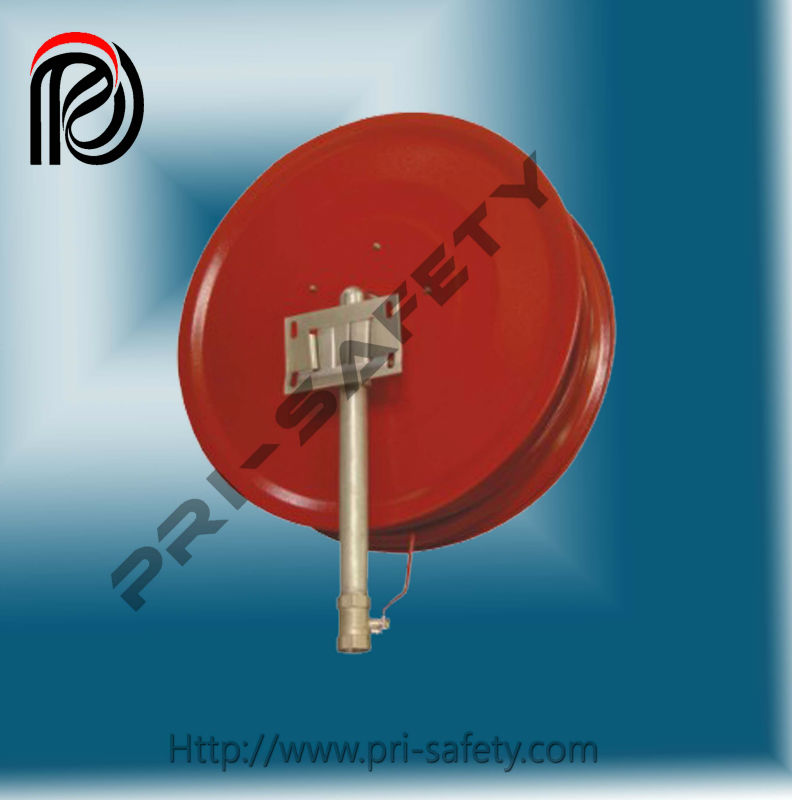 "Fixed type fire hose reel, PT01-09B 3./4""x30m arm with inlet pipe"