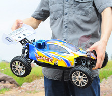 1/8th nitro petrol remote control cyclone rc car in china