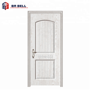 Cheap white contemporary front door designs french style entry internal wooden doors mdf ecological door leaf
