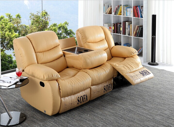 Por Electronic Control Vip Home Recliner Sofa Malaysia Leather Ls627