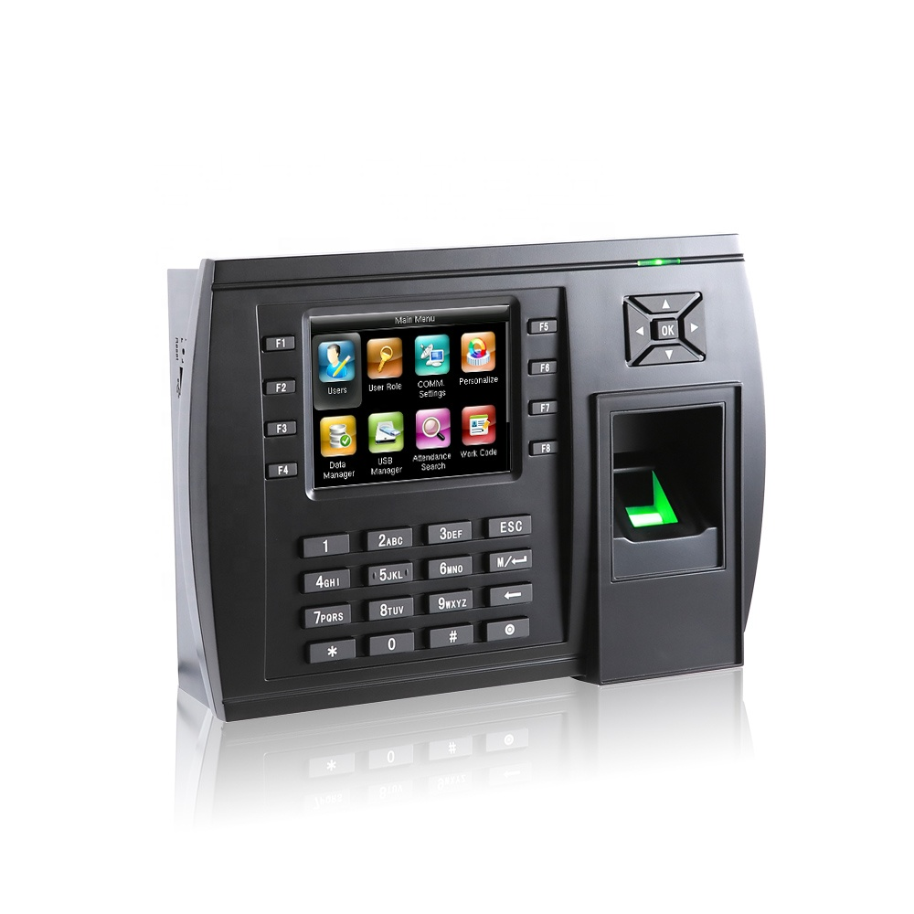 Large Capacity Biometric Fingerprint And Punch Card Time Attendance Machine  - Buy Attendance Card Punching Machine,Time Attendance System,Fingerprint