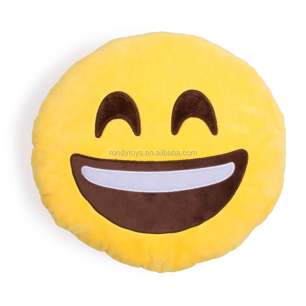 Wholesale Stuffed Toys Pillow Smiley <strong>Plush</strong>