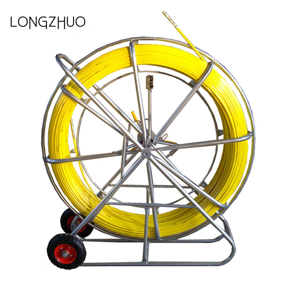 Cáp Đẻ Công Cụ Fiber Rắn Ống Rodder/Nhà Sản Xuất Cáp Sợi Thủy Tinh Đẩy Puller/cường độ Cao sợi thủy tinh kéo đẩy que