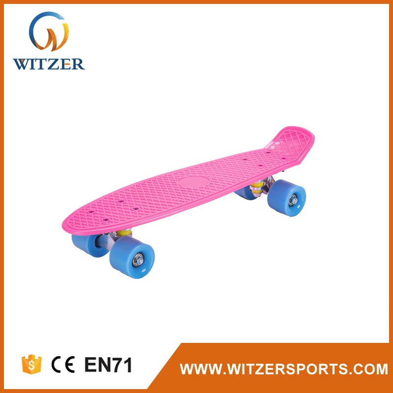 PP skateboard desk LED skateboard fishboard