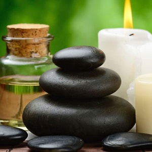 Hot Rock Salt Stone Massage for Health