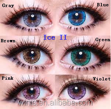 korea Ice brown lens LUNA Crystal big eyes colored contact lens