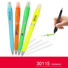 Ballpoint pen with highlighter for promotion