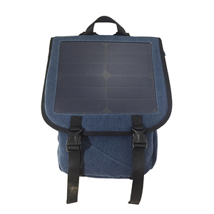 Solar station wholesale removable panel outdoor 1.8L hydration solar power backpack