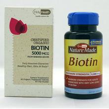 Health Supplements Biotin Capsules/tablets biotin 5000mcg Private Label
