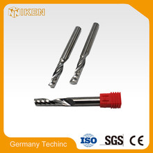 Pcd diamond spiral milling cutter for cnc machine factories