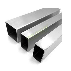 hot sale factory price sgs certification 304 stainless steel square pipe