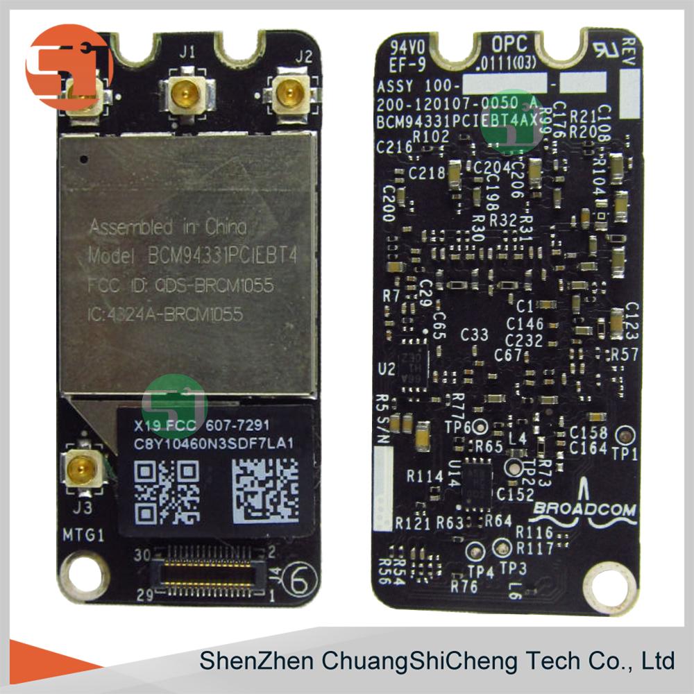 Original Working Bcm94331pciebt4ax Bt 3 0 Wifi Bluetooth Airport Network  Wireless Card For Apple Macbook Pro A1278 A1286 A1297 - Buy