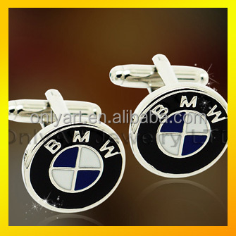 BMW car logo cufflinks team work cufflinks fashion custom cufflinks