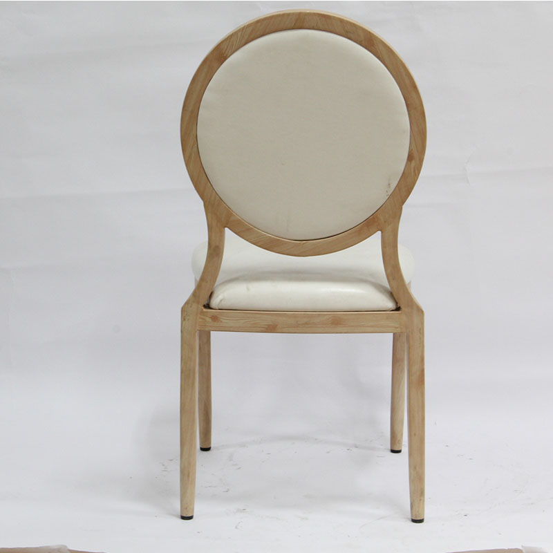 2017 French Louis Style Furniture Ghost Chair Round Back Chair Cheap Ghost Ch